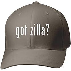 BH Cool Designs Got Zilla? - Baseball Hat Cap Adult, Dark Grey, Large/X-Large