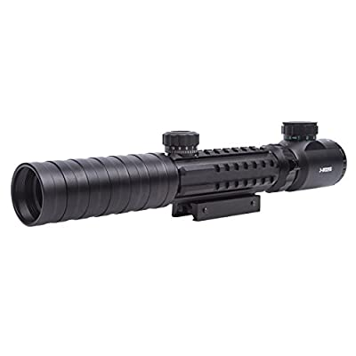 Tactical Rifle scope 3-9x32 Eg Red&green Illuminated Rangefinder Reticle Shotgun Air Hunting Rifle Scope by Sunvp