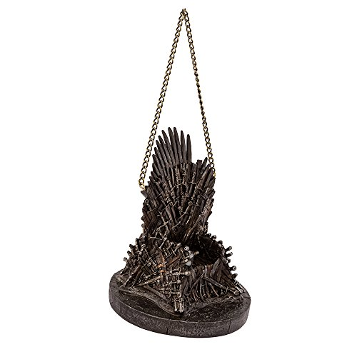 Kurt Adler Game of Thrones Resin Throne Ornament, 4.25″