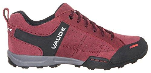 Vaude Women's Leva - Zapatillas De Deporte Para Exterior de piel mujer rojo - Rot (claret red 237)