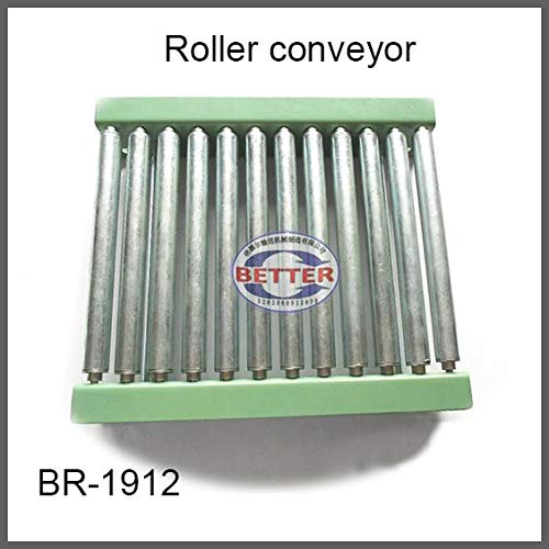 Fevas Gravity Steel Galvanized Roller Conveyor Carton Roller Track