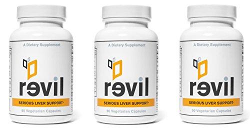 Serious Liver Support & Liver Detox (With Organic Milk Thistle, Organic Reishi Mushroom, NAC, Alpha Lipoic Acid, Bupleurum) (3 Bottles)