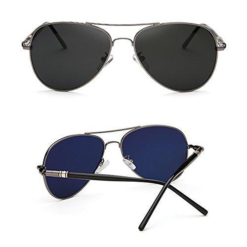 de deportivas sol para conducir de 100 para A hombre C SSSX Gafas sol de Gafas sol de UV400 sol Color Gafas Gafas polarizadas estilo aviador Gafas RwvtnHA7