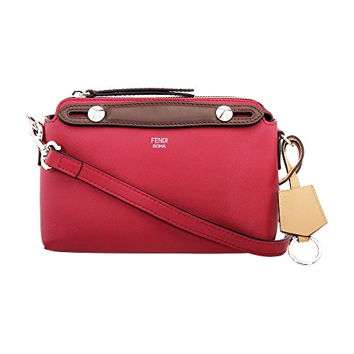 Red Bag Fendi (Fendi By The Way Mini Ladies Small Leather Boston Bag 8BL1355QJF114X)