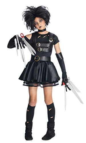 Rubie's Edward Scissorhands Teen Miss Scissorhands Costume, Black, Medium -