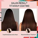 """TYMO Titanium Hair Straightening Iron – 1"""" Flat"""