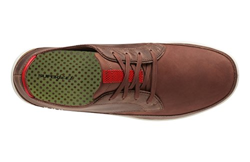 Brown Ross Men's Shoe Comfort Friar Casual Superfeet Lava Molten wz1xH7n