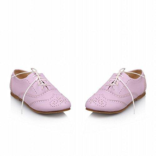 Scarpe Da Donna Di Moda Latasa, Scarpe Oxford, Scarpe Comfort Viola