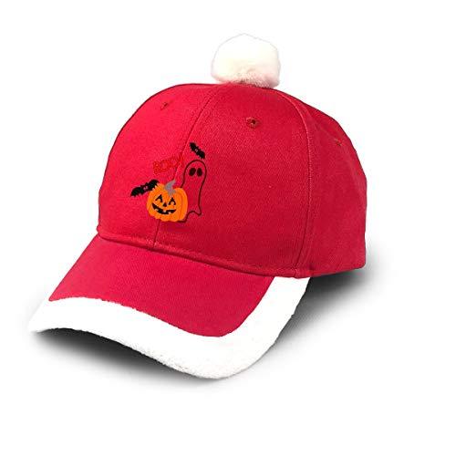 Cute Halloween Pumpkin Clipart (HK37USFEI Santa Baseball Cap,Boo Cute Halloween Clipart Pumpkin Christmas Baseball)