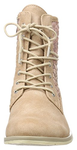 Militar Candy Mujer para 519 Marco Botas Tozzi Comb 25101 Rosa gwFqFO