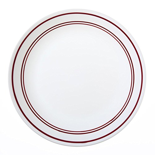 Corelle Livingware Classic Café Red 10-1/4 Dinner Plate (Set of 8)