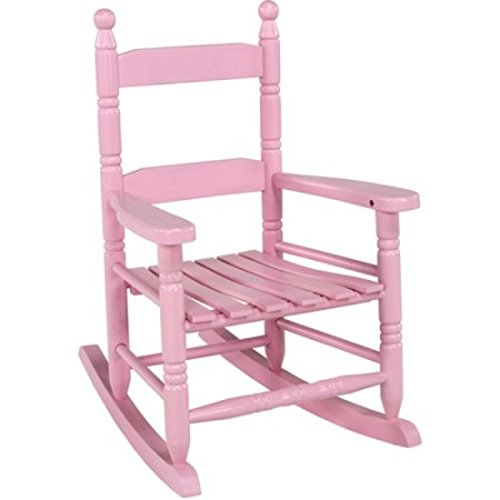 Classic Rocking Chair for Children, Pink by Jack Post
