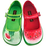 Hot Chocolate Design Mini Chocolaticas Patilla Girls Mary Jane Flat Multicoloured HCD 25