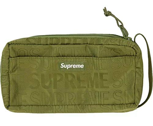 Supreme Organizer Pouch Bag Olive SS19 Brand New 100/% Authentic Real SUPREMENEWYORK Rare Designer