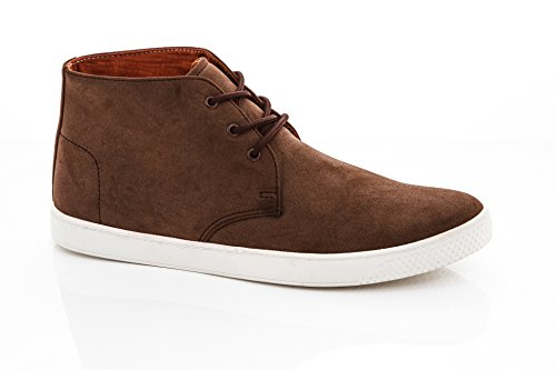 1 Brown Boots Mens Chucca Franco Fashion Suede Vanucci Sneakers w1RqKZfpx
