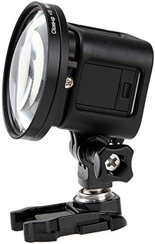 HUIFANGBU 58mm 10X Close-Up Lens Macro Lens Filter for GoPro HERO5 Session //HERO4 Session//Hero Session
