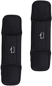 1 Pair Outdoor Travel Camping Hiking Pain Relief Damping Skidproof Shoulder Strap Belt Cushion Pad