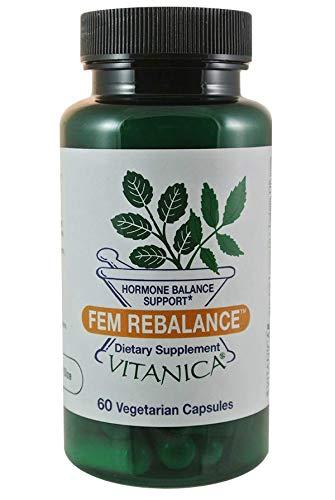 Vitanica FemRebalance, Hormone Balance Support, Vegan, 60 Capsules Review
