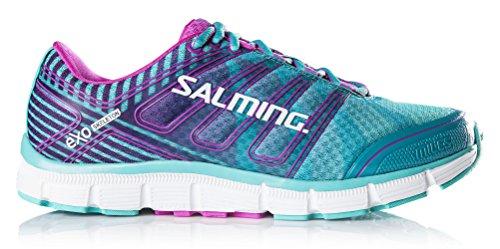 Salming Damen Laufschuh Neutral-Schuh Natural Running Schuh Miles Türkis / 1287039-6753