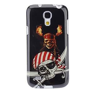 Conseguir Skull and Sword Caso duro del patrón para Samsung i9500 Galaxy S4