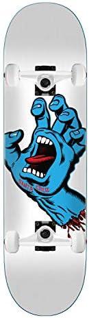 "Santa Cruz Skateboards Assembly Screaming Hand White 8.25"" x 31.8"""