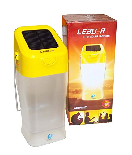 LEADER EP 31 ABS Solar Lantern (Yellow)