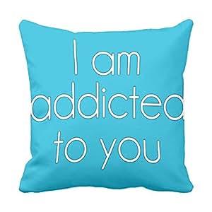 Decorative Throw Pillow Case Cushion Cover Home Sofa Addicted Cool Decorative Throw Pillow Covers