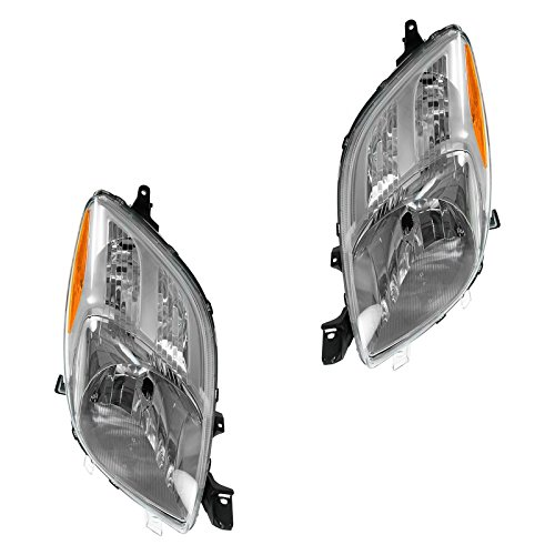 Headlight Headlamp Pair for Toyota Yaris Hatchback 06 07 ()