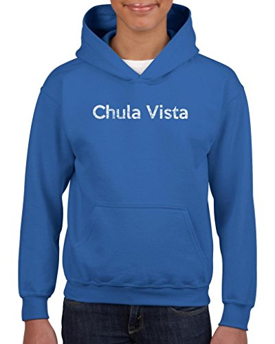 Ugo Chula Vista CA California Map Flag Home of University of Los Angeles UCLA USC Girls Boys Youth Kids - Outlet Chula Vista