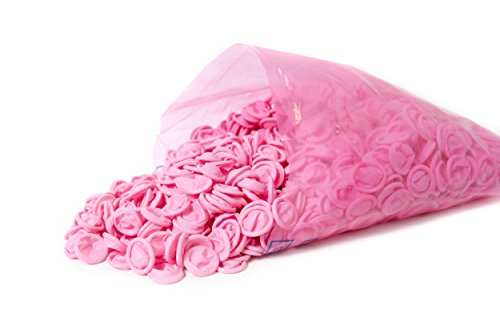 Bertech ESD Finger Cots, Pink Color, 4 Mil Thick, Small, (Pack of 1440)