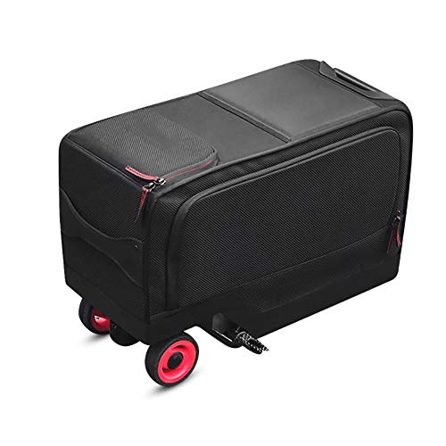WOTR Smart Suitcase,Scooter-Suitcase Ride-on Travel Trolley Luggage Electric Cycling Suitcase Smart Trolley Case…