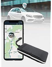 Salind Gps-Tracker Voor Auto, Motorfiets, Voertuigen En Vrachtwagens Met Directe Aansluiting Op Accu Van De Auto (12-24 V) – Abo Van € 4,99 / Maand Vereist