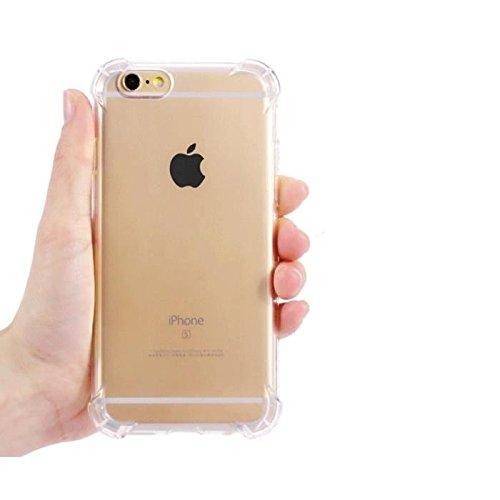 VSHOP ® Coque iPhone 6/6s Coque de protection en silicone et TPU renforcé anti choc pour iphone 6-6s (transparent, iphone 6-6s)