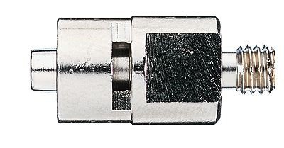 Cadence Male luer lock x 1/8'' NPT, Nickel-plated brass, each 41507-84
