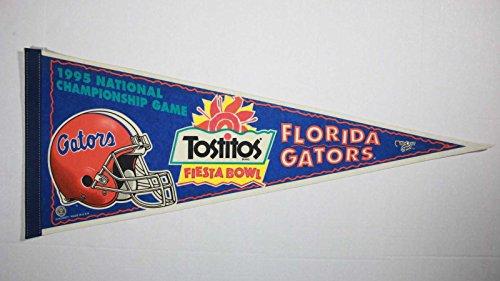 1995 NATIONAL CHAMPIONSHIP GAME, TOSTITOS FIESTA BOWL, FLORIDA GATORS PENNANT (Game Tostitos Bowl)
