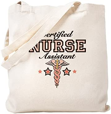 b42a2417afae CafePress - Certified Nurse Assistant - Natural Canvas Tote Bag, Cloth  Shopping Bag