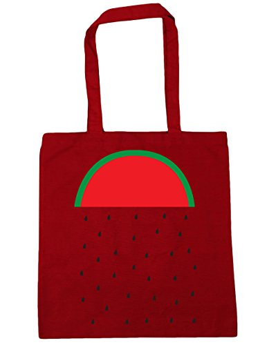 x38cm 42cm Gym Bag litres Classic Rain Beach Shopping Watermelon 10 HippoWarehouse Red Tote qUw80H