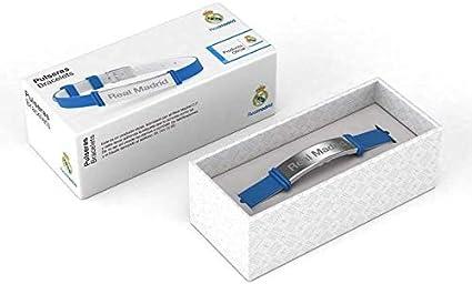 Gemelolandia   Pulseras de Tela del Real Madrid Producto Oficial Modelo 3   Regalo Original   Ideal Para Bodas, Aniversarios, Fiestas, Despedidas de Solteros