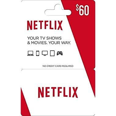 Netflix Gift Card $60
