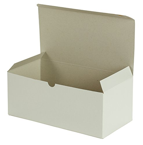Premier Retail Packaging 10 Count White Gloss Gift Box, 10 x 5 x 4