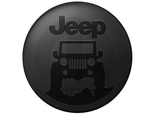 Jeep Wrangler Mopar Jeep On The Rocks Logo Hard Shell Tire - Hard Tire Cover
