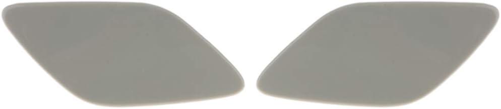 Baosity 2PCS Front Bumper Headlight Washer Covers Nozzle Jet Caps for BMW E92 E93 3-Series 328i