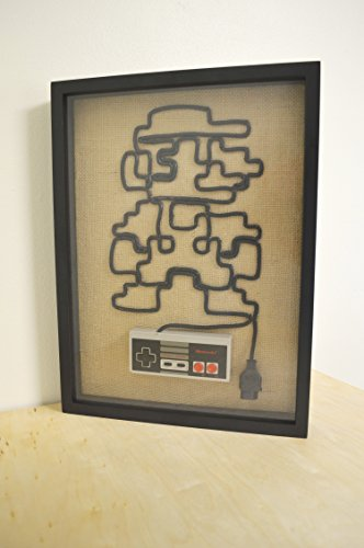 Super Mario - Nintendo NES Wall Art Shadow Box by 1UP Forge