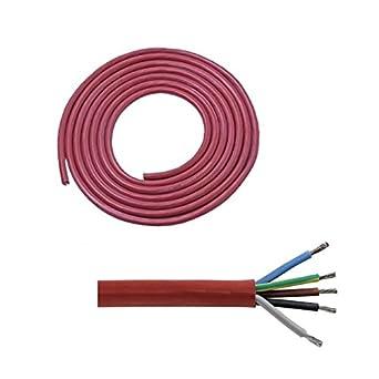 Doubl eyou g & B® Silicona sihf Cable de J 5 x 2,5 mm² para eléctrico estufas de sauna de hasta 9 kW (Metro) - Cable para sauna: Amazon.es: Grandes ...