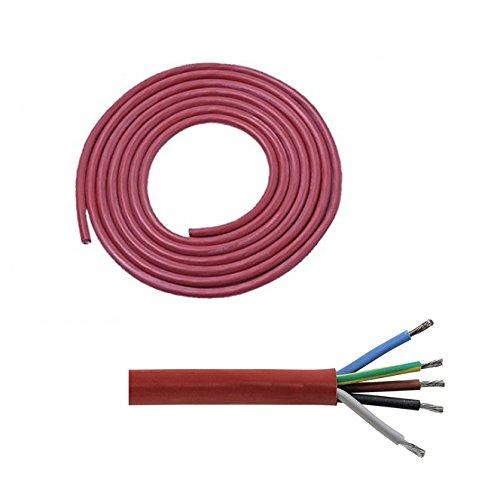 Doubl eyou g & B® Silicona sihf Cable de J 5 x 2,5
