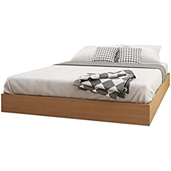 nordik 346005 queen size platform bed natural maple