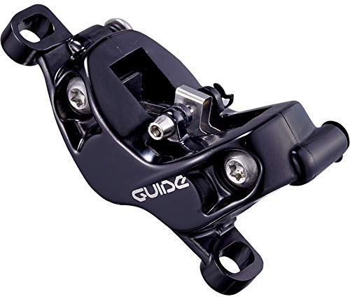 SRAM Replacement Guide RSC Caliper Assembly, Standard Post-Mount (non-CPS), Front/Rear, Anodized Black
