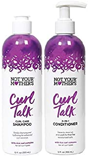 product image for Not Your Mother's Curl Talk Shampoo & Conditioner Set, 12 Fl Oz Each