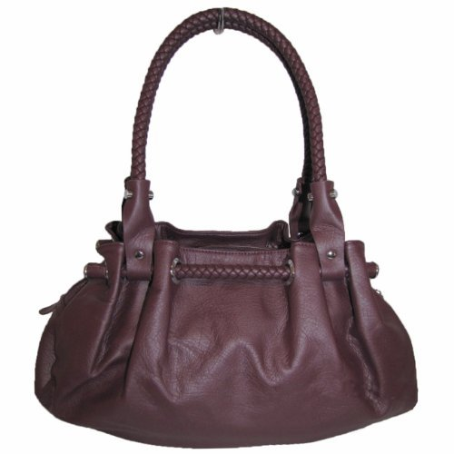 Braided Satchel Hobo Handbag - Braided Womens Handbag