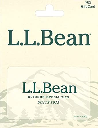 Amazon.com: L.L. Bean $50: Gift Cards